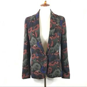 Urban Outfitter Silence + Noise Floral Blazer